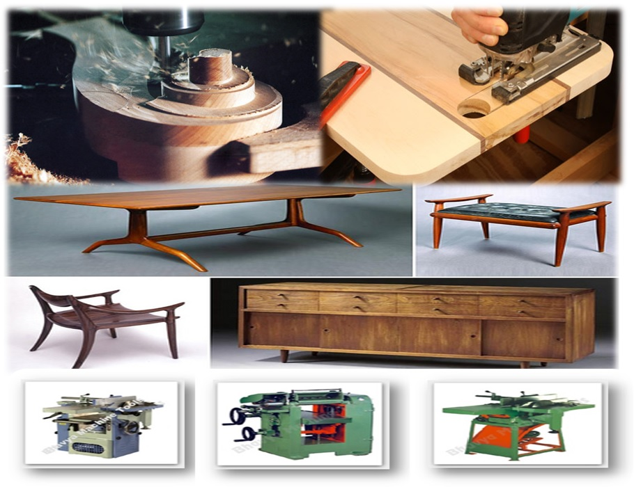 Woodwork Machinery and Machinist for Interior Decoration