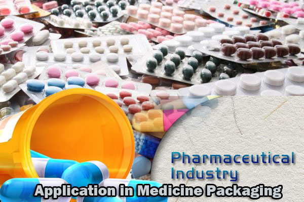 Application in medicine packaging