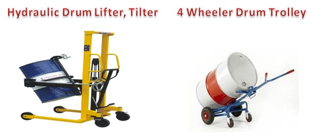 hydraulic drum lifter tilter