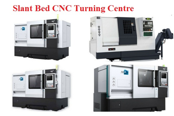 Slant Bed CNC Turning Centre