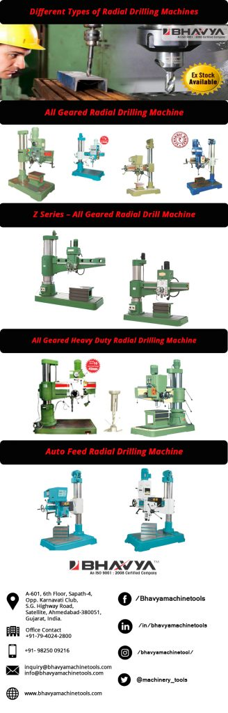 Radial Drilling Machine Ex-Stock Availability